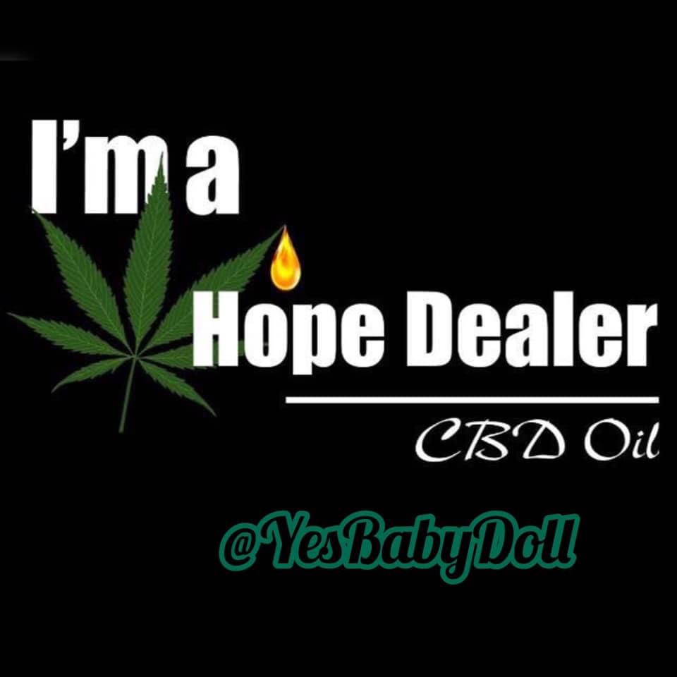 YesBabyDoll IG Hempworx CBD oil Hope Dealer (Christina Solis Caron)