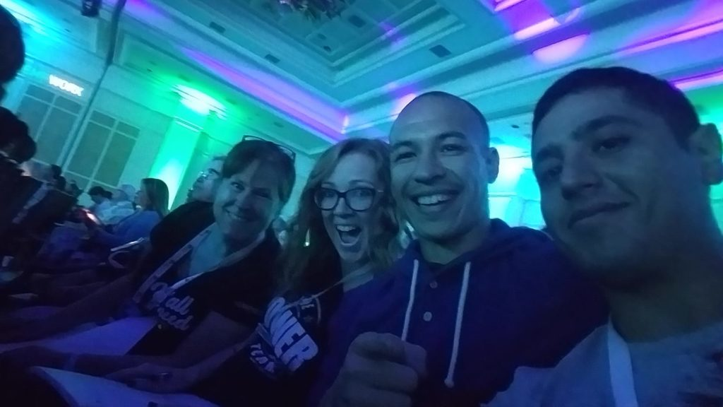 Gigi Ames Hempworx, Kendra Bodeen. Brian Cain, and Juan Toledo at Hempworx Master Affiliate Training Event