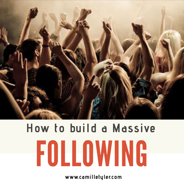 How To Build A MASSIVE Following Online