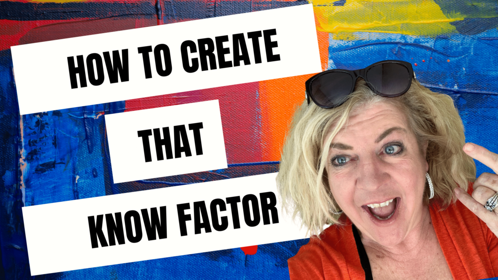 Your Story Brand Creates That Know Factor