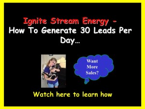 ignite stream energy
