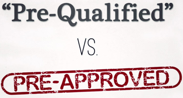 The Difference Between  Pre-Qualification and Pre-Approval