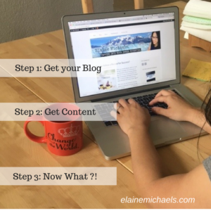 Step 1- Get your Blog