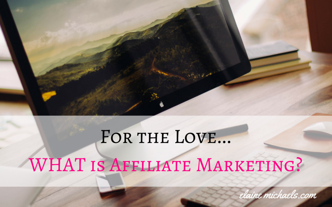 For the Love, What is Affiliate Marketing?