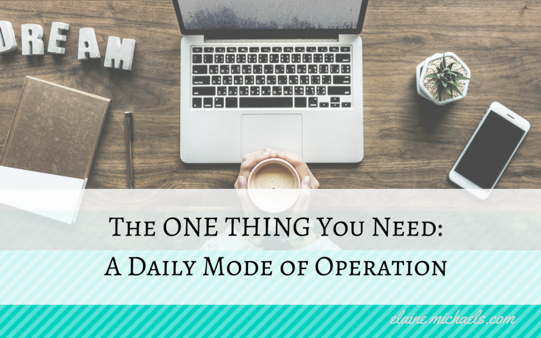 Network Marketing Tip: A Daily Mode of Operation