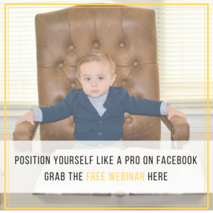 Position Yourself Like a PRO on Facebook
