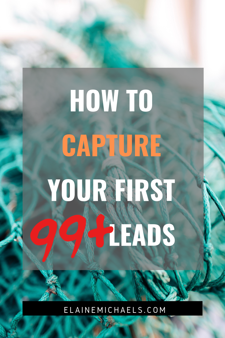 Capture Your First Leads