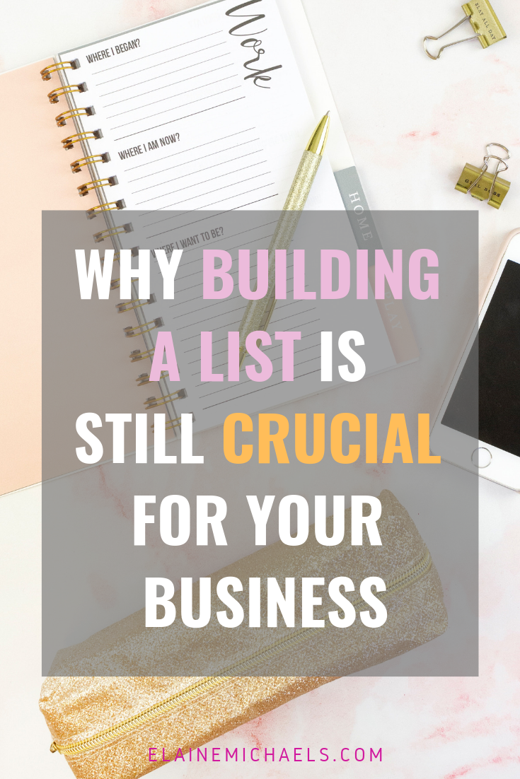 Building a List is Crucial