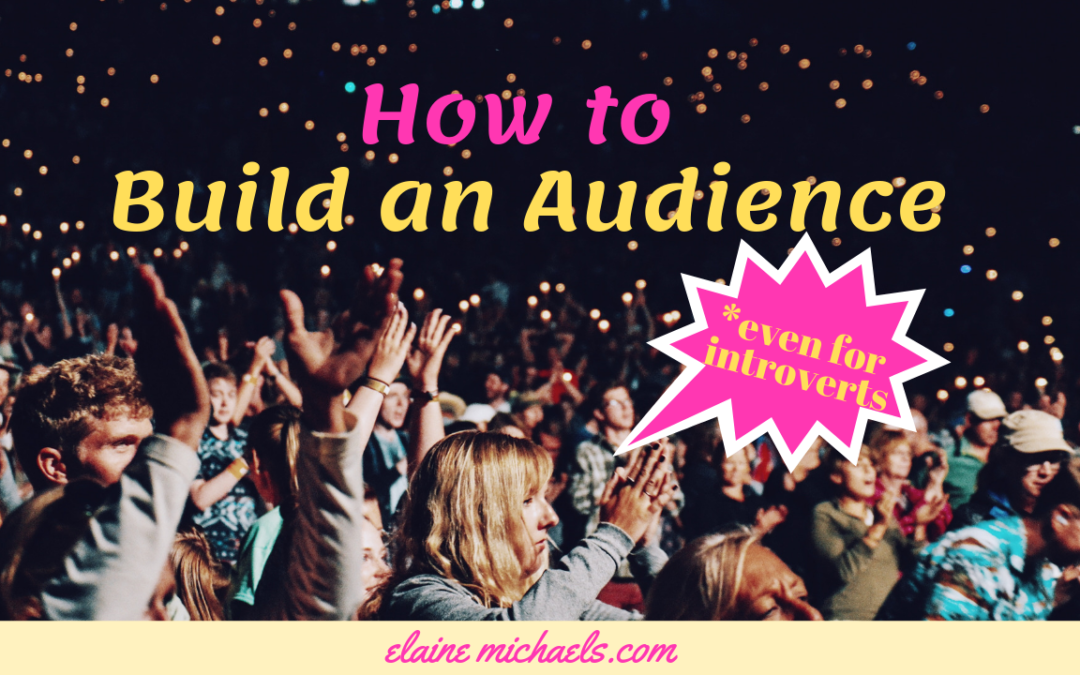 How to Build An Audience *even for Introverts!