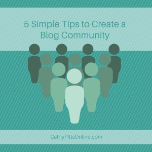 create a blog community