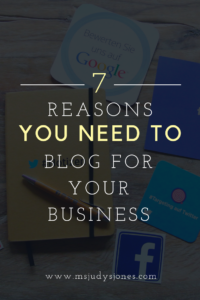 Seven Reasons You Need Blog For Your Business