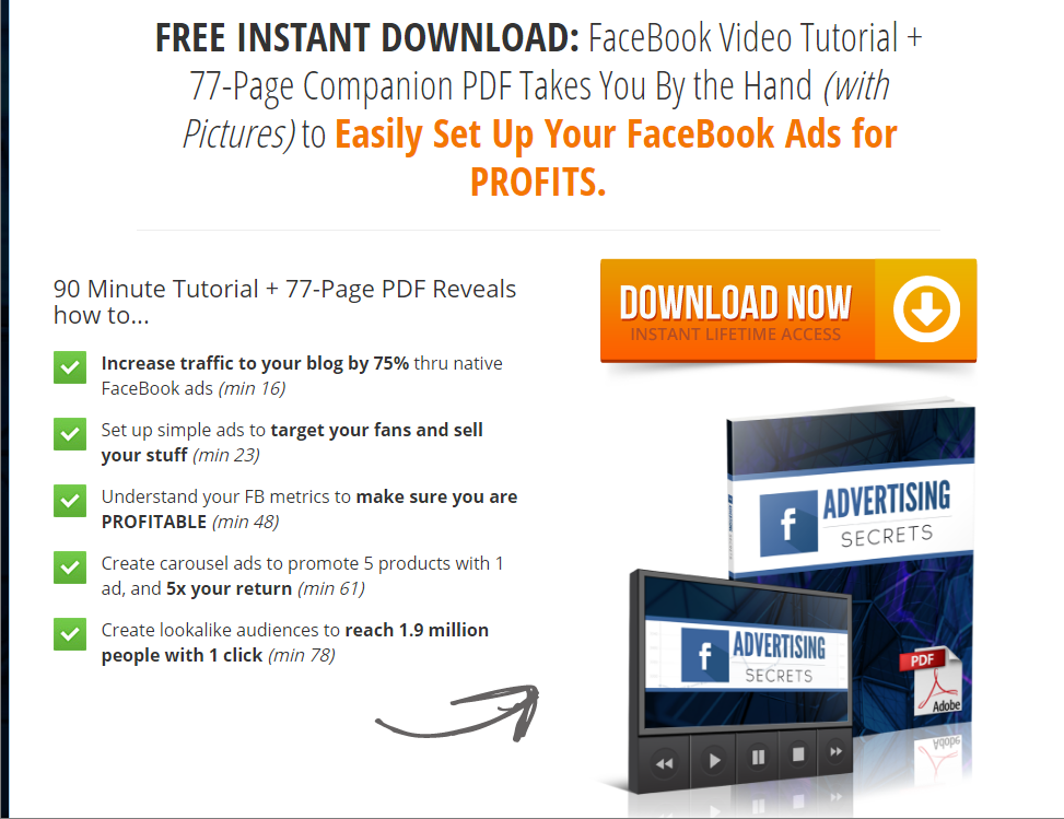 FREE Facebook Advertising Secrets Training