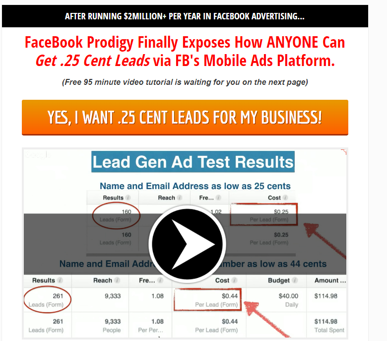 Free Facebook Mobile Ads Training