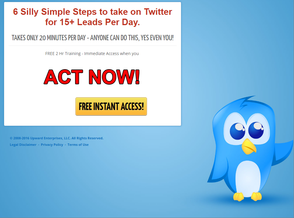 FREE 6 Simple Steps to Dominate Twitter Training