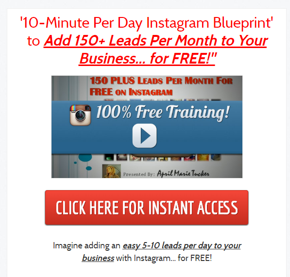 FREE Instagram Training