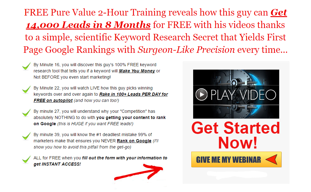 FREE Keyword research Training