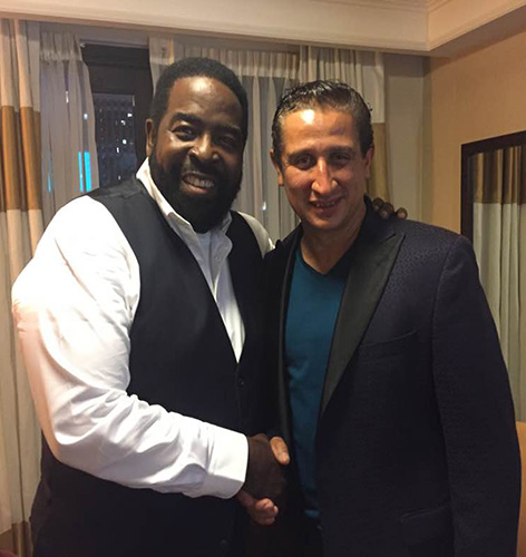JosephDiego with His Friend & Mentor Les Brown