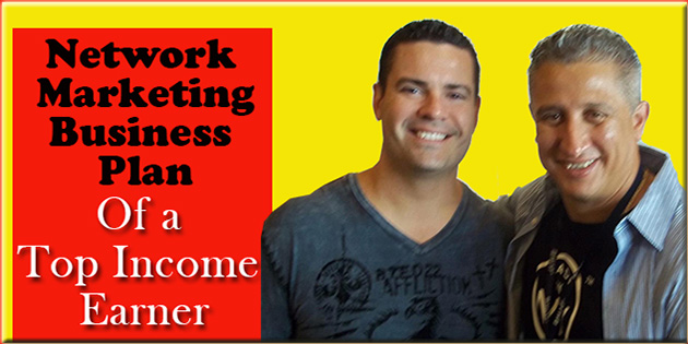 Network Marketing Business Plan Ray and Joe