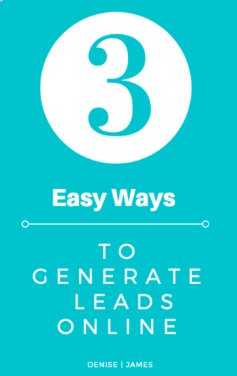 3 Ways To Generate Leads Online wp