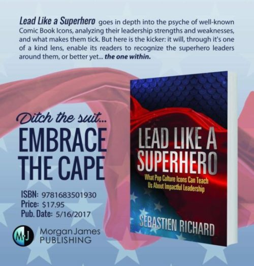 """LEAD LIKE A SUPERHERO"""