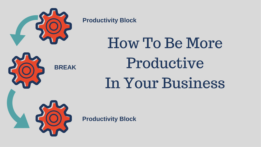 Be More Productive In Your Business