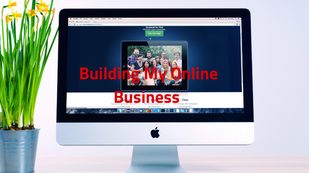 Building my online home business