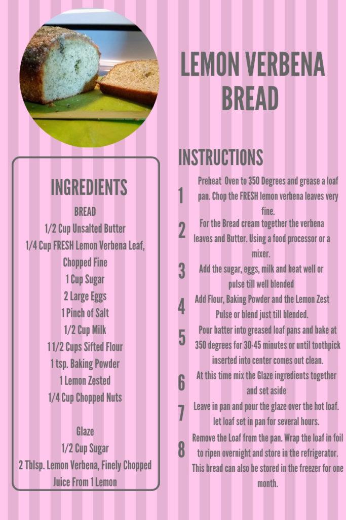 Lemon Verbena Recipe