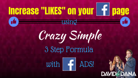 Increase Likes on Your Facebook Page Using a Crazy Simple 3 Step Formula with Facebook Ads for Your Business