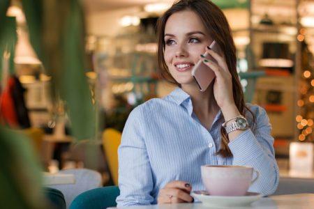 Business Phone Conversation