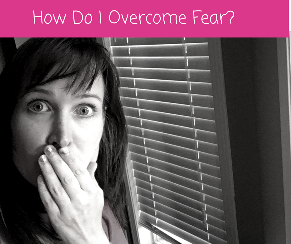 "Black and white picture of Staci looking fearful for the blog post entitled: ""Quickly Overcome Fear In Network Marketing And Start Actually Having Fun!"""