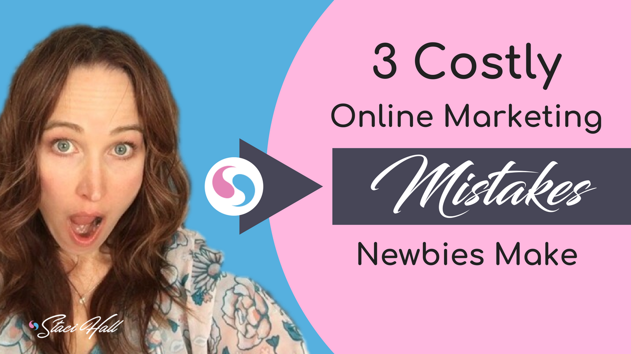 Three Costly Mistakes People Usually Make When They Are New to Online Marketing