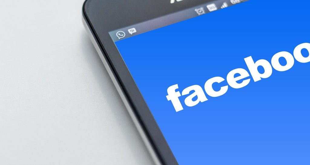 "Facebook on iphone …used for the blog post entitled: ""Prospecting Tips: 3 online spots to quickly find super hot prospects:"