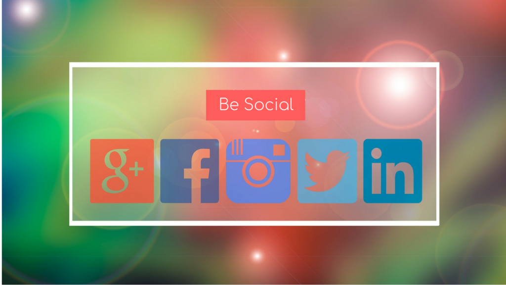 Image of social media icons …used for the blog post entitled: 'Social Media For Business: What You Actually Need to Focus on to Get Results Quickly'.