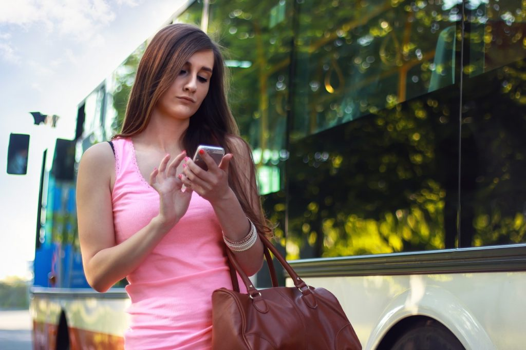 "Woman on cell phone …used for the blog post entitled: ""Time to Finally Switch Network Marketing Companies?"""