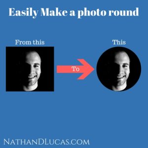 How to make a circle photo