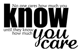 Know and care