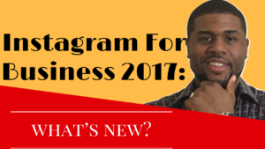 Instagram For Business 2017
