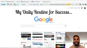 MLM daily routine