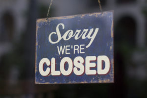 biz closed