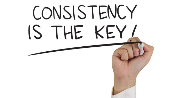 TOP 5 TIPS TO STAY CONSISTENT