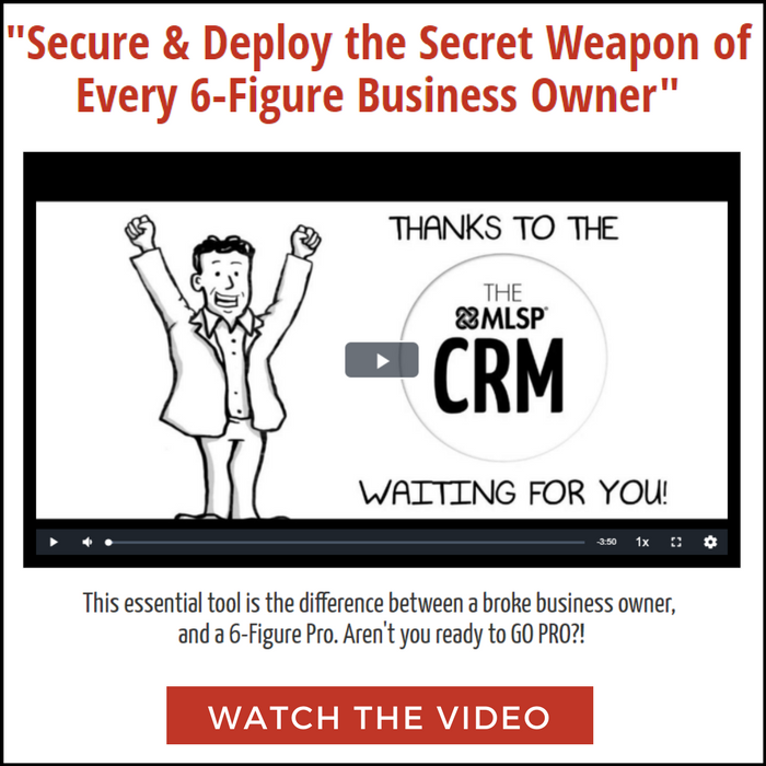 Secure and Deploy the Secret Weapon of Every 6-Figure Business Owner, Watch the Video