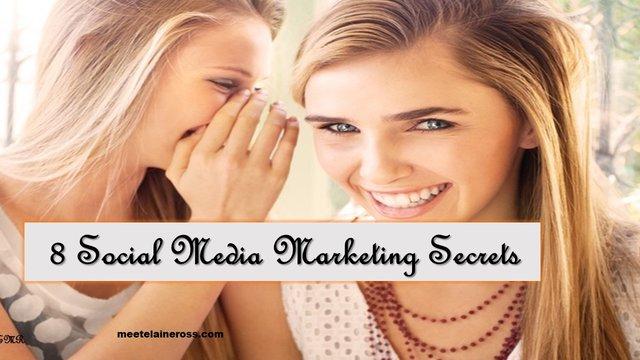 8 Social Media Marketing Secrets