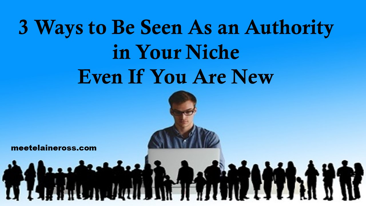 3 ways to be seen as an authority even if you are new