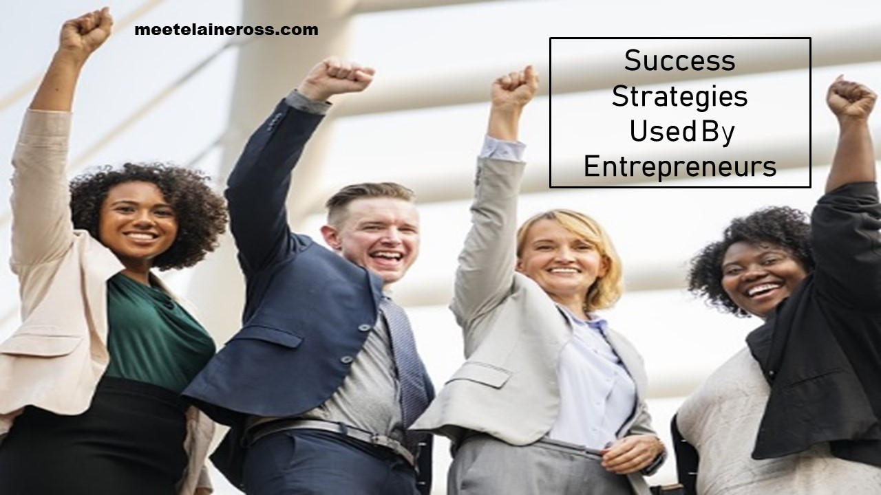 Success Strategies Used By Entrepreneurs