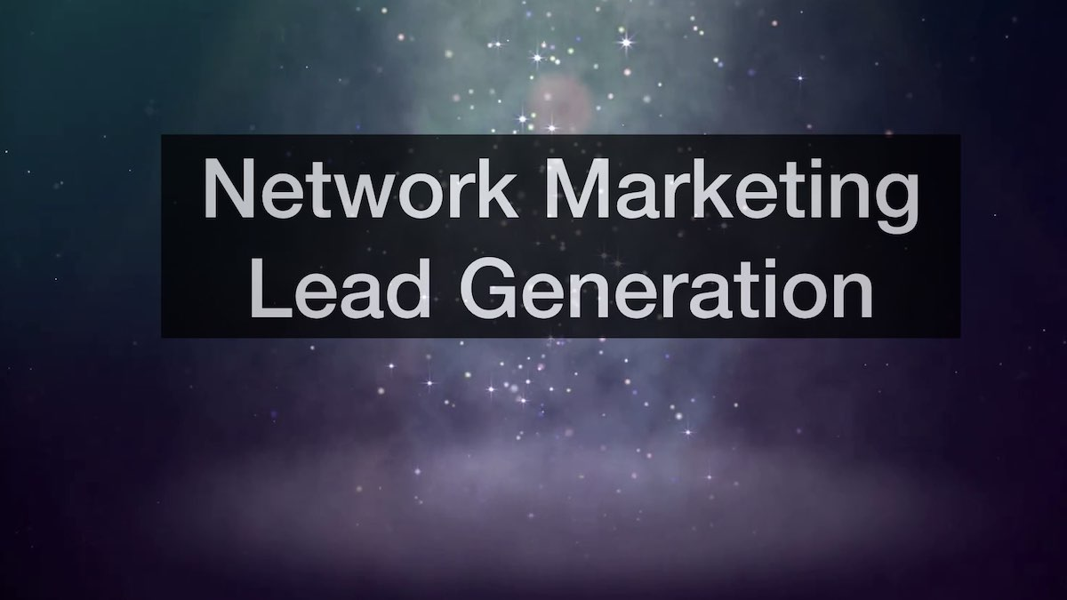 Network Marketing Lead Generation