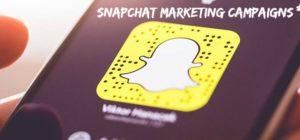 snapchat marketing campaigns
