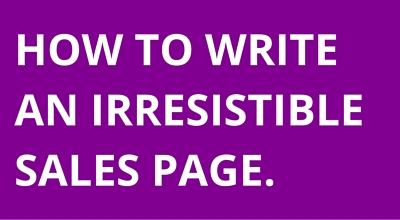 Simple 10-Step Structure Revealed for Sales Pages To Help Make Your Offer Even More Irresistible