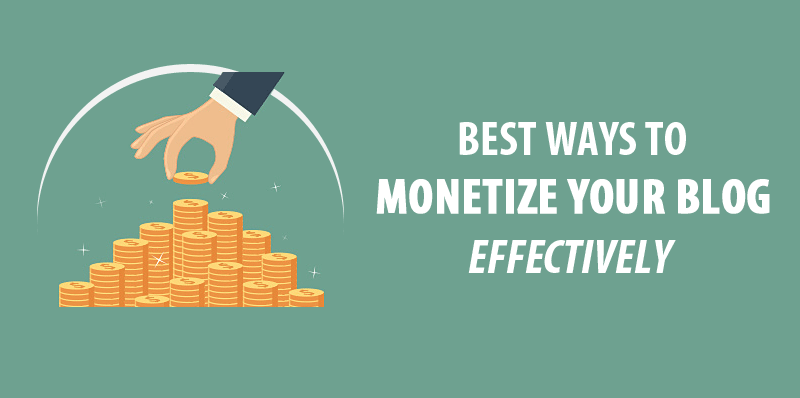 6 Fast and Easy Ways You Can Monetize Your Blog Today!