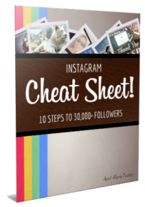 IG-Cheat-Sheet Zach Loescher Residual Genius