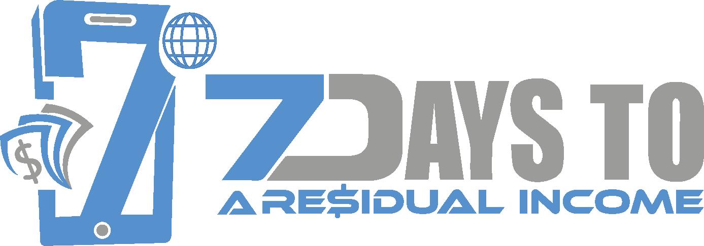 7 Days To A Residual Income - Residual Genius